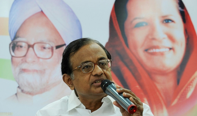 Former Union Minister of Finance of India  Palaniappan Chidambaram (INDRANIL MUKHERJEE/AFP/Getty Images)