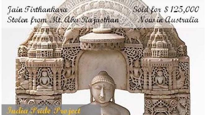 Stolen Jain Tirthankara