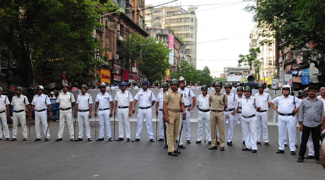 Police in West Bengal/Getty Images