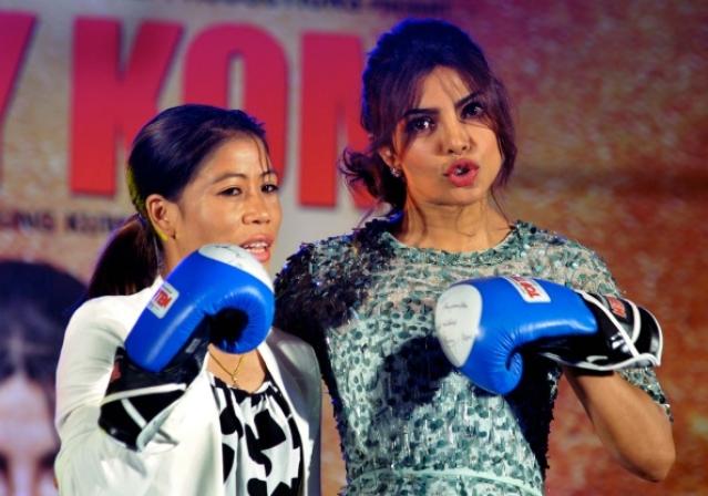 Priyanka Chopra ad Mary Kom/Getty Images