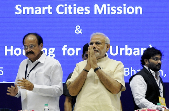 Smart Cities Mission being Launched/Getty Images