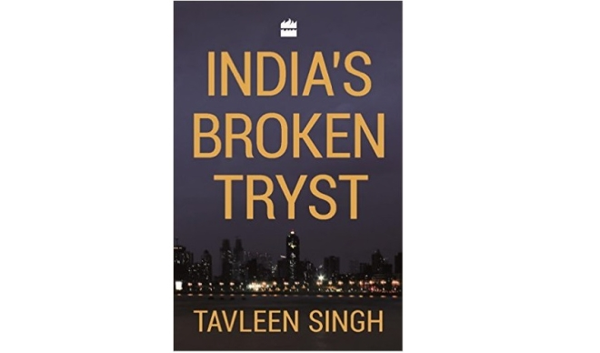 India's Broken Tryst - Book Cover