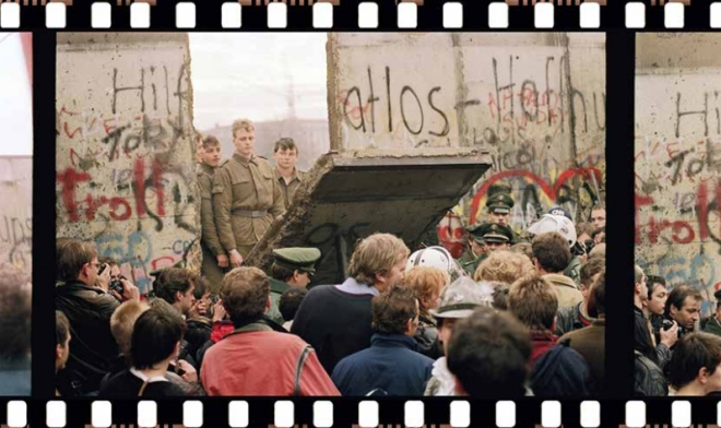 The fall of the Berlin Wall in 1989 in a way led to the  fall of India's Soviet-era socialist economic model.