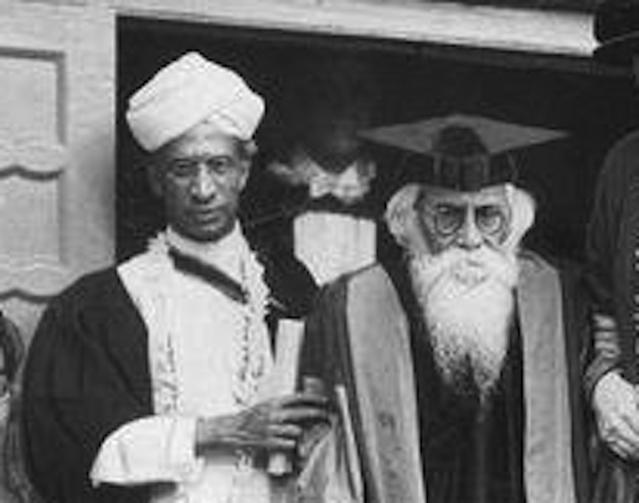 From The Archives: Rabindranath And Radhakrishnan