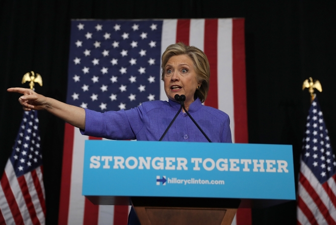 Clinton Says WikiLeaks' Julian Assange Colluded With Russia To Help Trump Win US Election