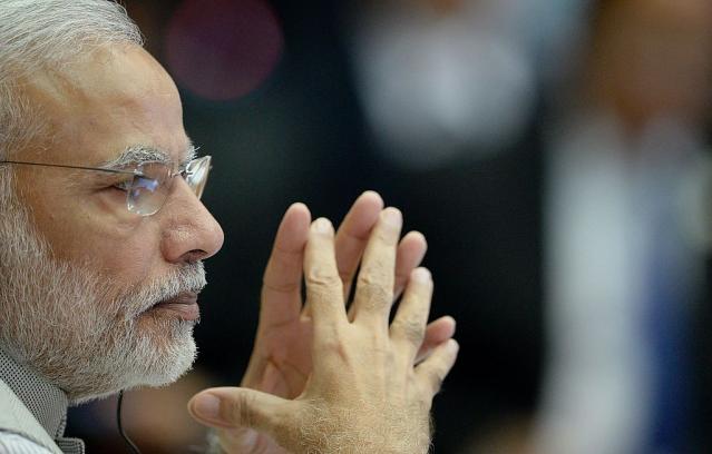 Narendra Modi (NOEL CELIS/AFP/Getty Images)