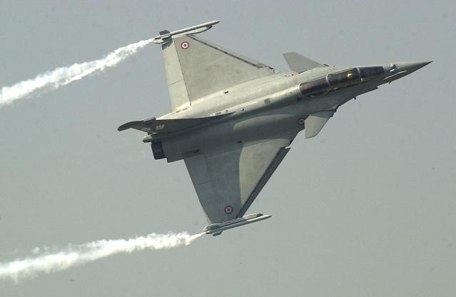 A Rafale fighter jet (EMMANUEL DUNAND/AFP/Getty Images)