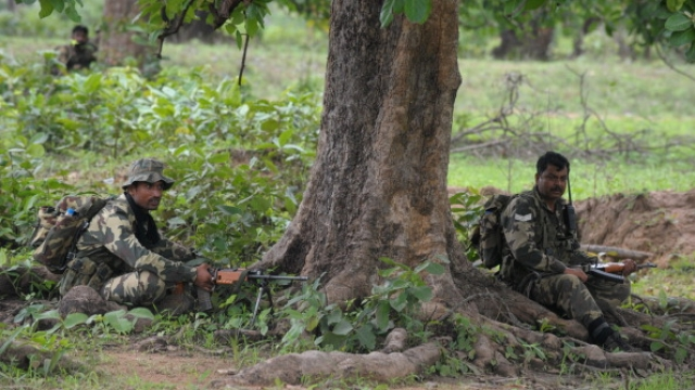 Top Naxal Chief Killed In An Encounter In Ranidongri Forest