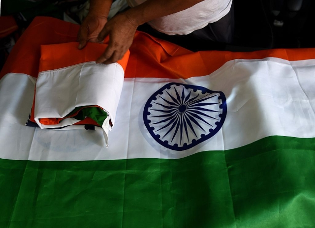 The flag of India (MONEY SHARMA/AFP/Getty Images)
