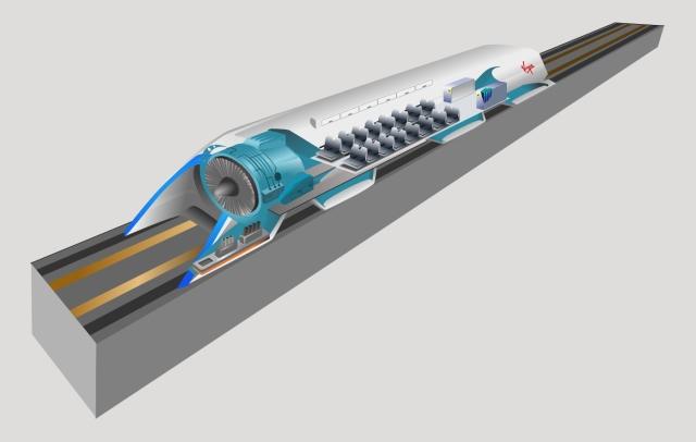 Hyperloop Concept. Image credits: Camilo Sanchez/Wikimedia Commons