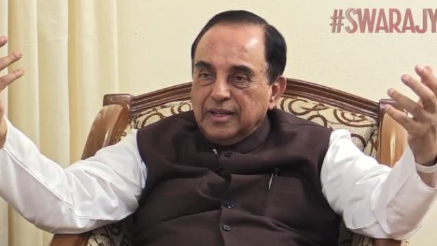 [Watch] Swarajya Exclusive: Dr Swamy On Black Money, Demonetisation, Modi, Hindutva, China, Trump & More