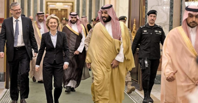 German Defence Minister Sparks Outrage After Refusing To Wear Hijab During Saudi Arabia Visit