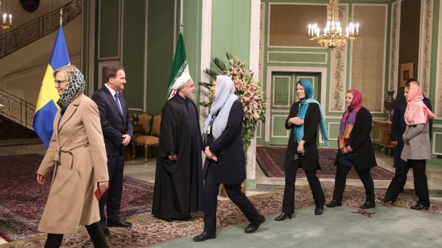 Left-Wing Swedish Politicians Wear Hijab In Iran,     Fail To Stand Against Sexist Laws