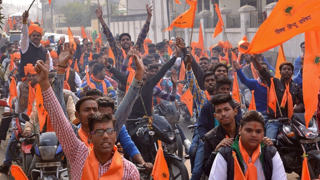 Snippets From #UP2017: Bajrang Dal Teams Talking To People For The BJP In Bareilly