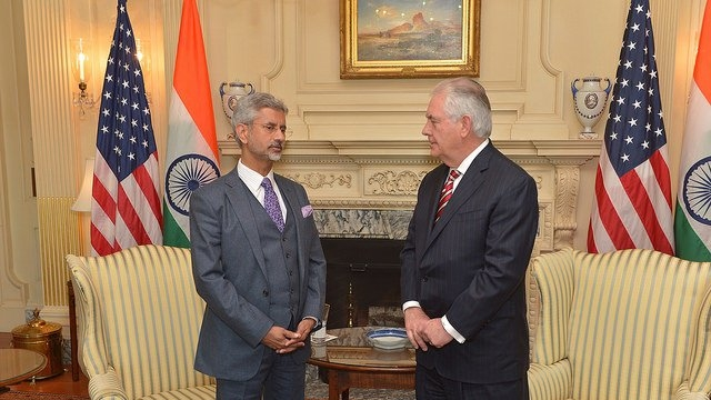Jaishankar Talks Immigration,  Terrorism With Tillerson, Possibly Paving Way For PM Modi's Likely US Visit