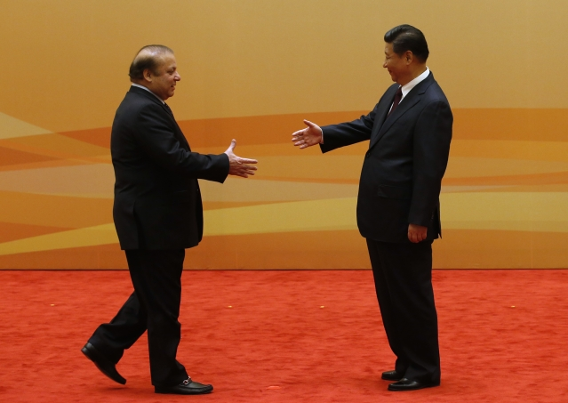 Pakistan's political economy, aided by China, seems to have its right foot forward. (Kim Kyung-Hoon/Getty Images)