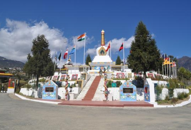 Indian Army Memorial at Tawang, Arunachal Pradesh
