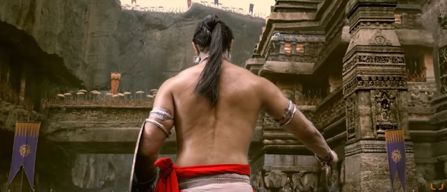 A still from Jayaraj's Veeram movie based on Shakespeare's play Macbeth.