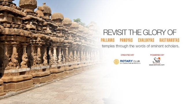 Revisit The Glory Of India's Ancient Temples On 12, 13 May In Coimbatore