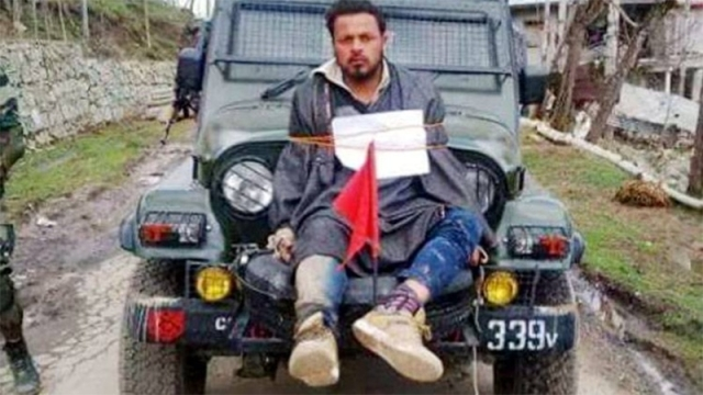 J&K Govt Refuses To Pay Rs 10 Lakh Compensation To 'Human Shield' Farooq Ahmed Dar