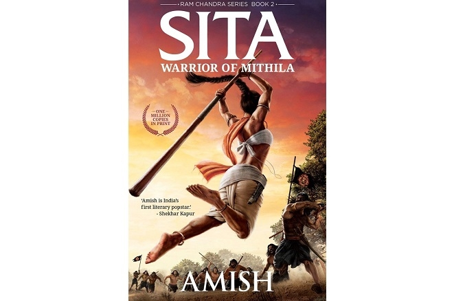 Book Cover of Sita: Warrior of Mithila By Amish Tripathi
