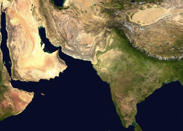 South Asia (Wikimedia Commons)