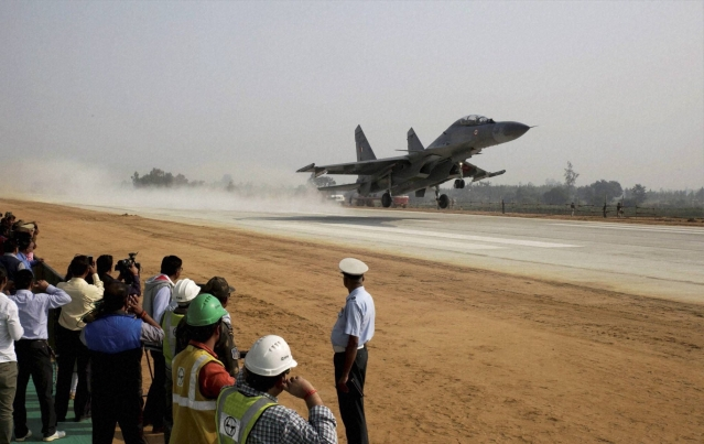 India To Build 17 Highways In Border Areas That Can Be Used As IAF Airstrips