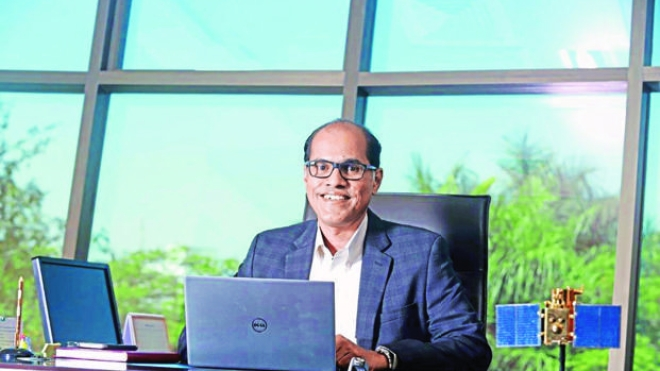 Rakesh Sasibhushan, chairman and managing director of Antrix. (Mint)