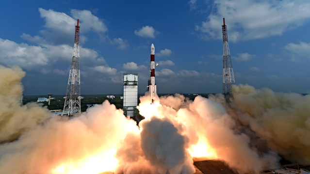 Watch: ISRO Launches PSLV-C38 Rocket