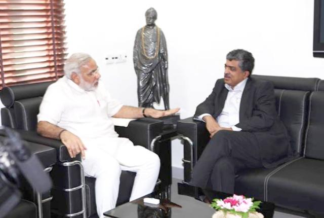 Modi, Nilekani And Aadhaar