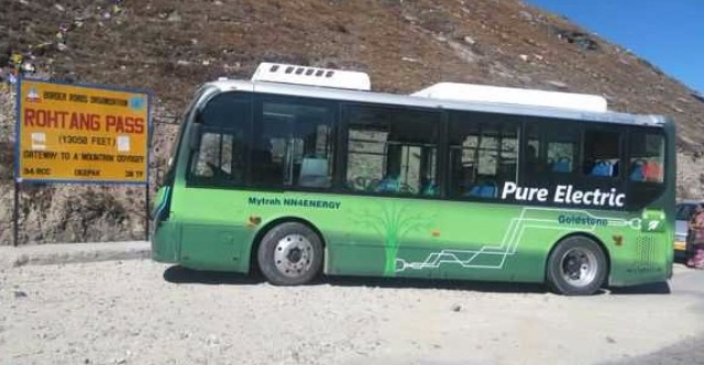 Himachal Pradesh Becomes First Hill State To Run Electric Buses