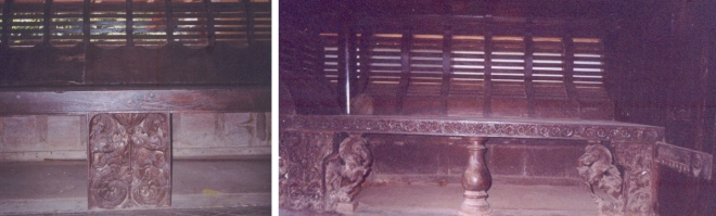 Inside the traditional mansion associated with the memory of Velu Thampi (2005)<br>