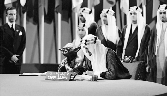 Saudi Textbook Withdrawn Over Image Of King With 'Star Wars' Yoda