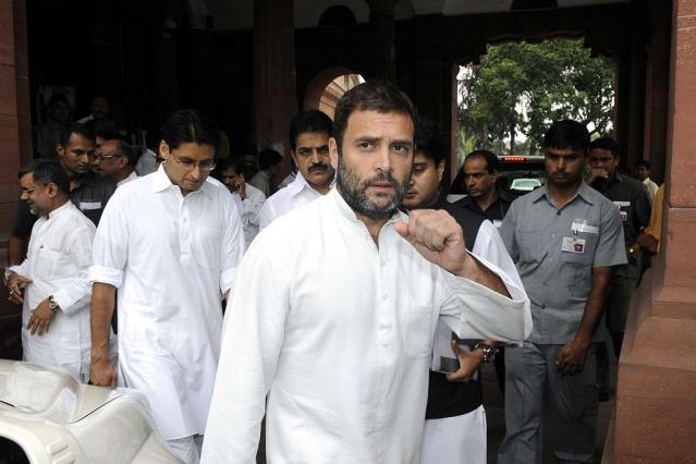 Rahul Gandhi (Sonu Mehta/Hindustan Times via GettyImages)