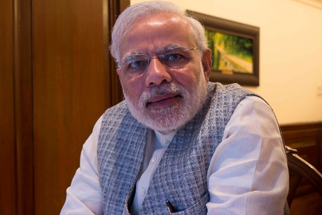 Prime Minister Narendra Modi. (Sanjoy Narayan/Hindustan Times via GettyImages)