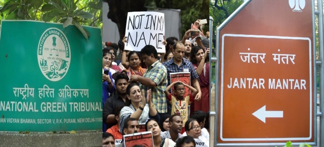 Stop All Protests  And Public Speeches  At Jantar Mantar Immediately: NGT Tells Delhi Government