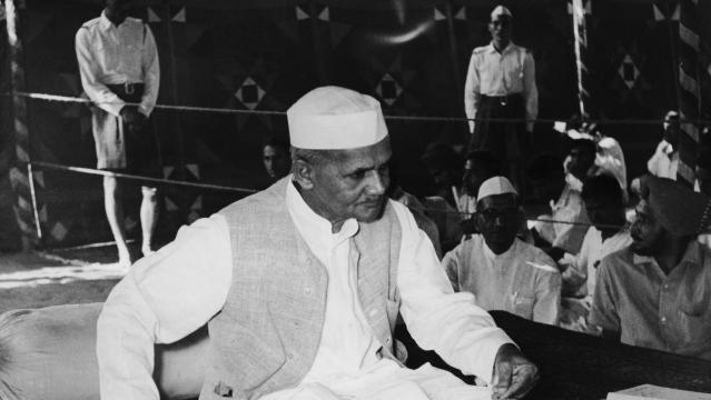 Lal Bahadur Shastri – The 'Little Minister'