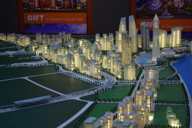 Gift city a model for future smart cities or just a disneyland artistic model of the plan for gift city negle Gallery