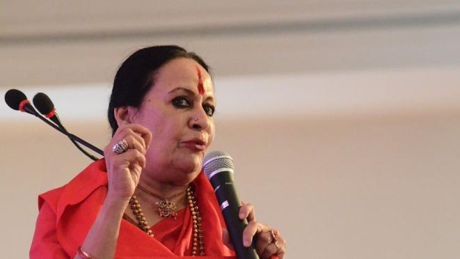 Sonal Mansingh (AU Jaipur Dialogues/Facebook)