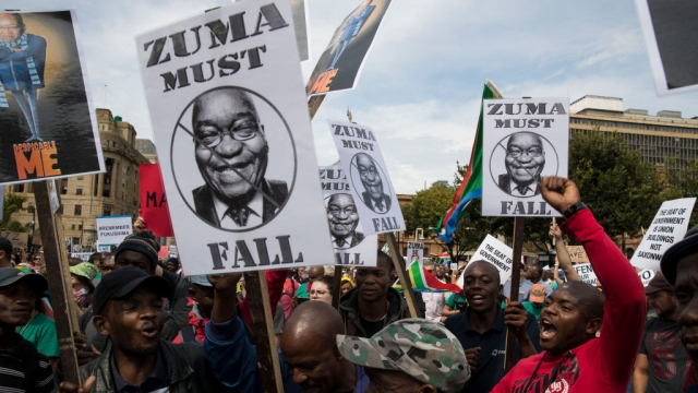 The Dying Days Of Zuma's South Africa