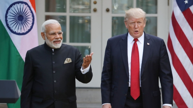 Morning Brief: Trump-Modi Vow To Create World's Greatest Militaries; Jaitley Signals More GST Rate Cuts