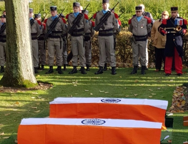 In Faraway French Commune, Ceremonial Send-off For Two First World War Indian Soldiers
