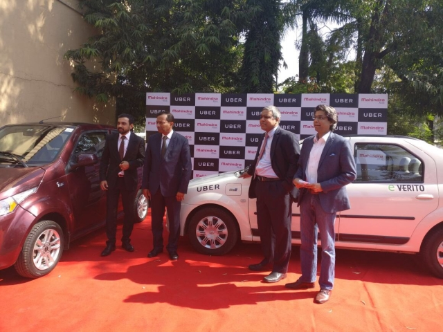 Towards An Electric Future: Uber To Partner With Mahindra For Electric Cars In India