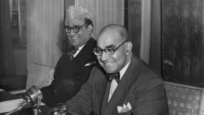 Liaquat Ali Khan (1895 - 1951), Prime Minister of Pakistan, during a visit to London as a guest of the Government. He was assassinated by a Muslim fanatic. (Hulton Archive/Getty Images)
