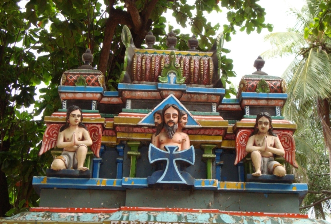 Image result for shantivanam temple