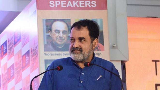 T V Mohandas Pai (AU Jaipur Dialogues/Facebook)