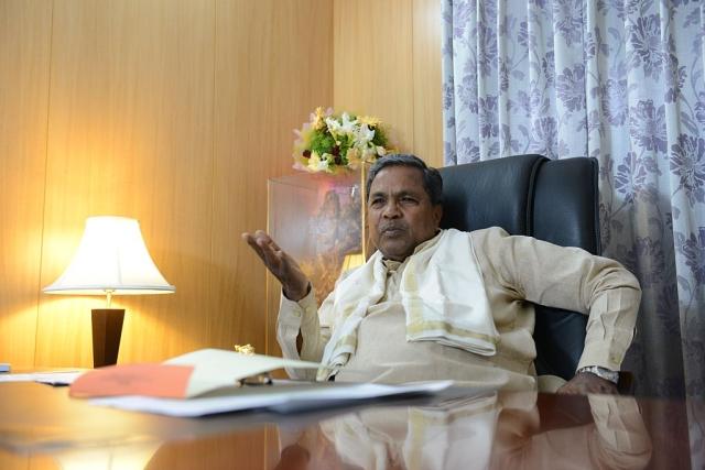 Karnataka Chief Minister K Siddaramaiah (Hemant Mishra/Mint via Getty Images)