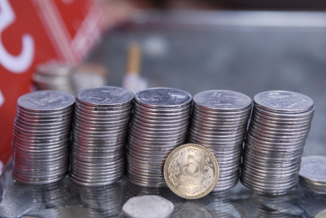 Indian currency in coins (Pradeep Gaur/Mint via Getty images)