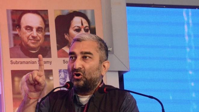 Sushil Pandit (AU Jaipur Dialogues/Facebook)