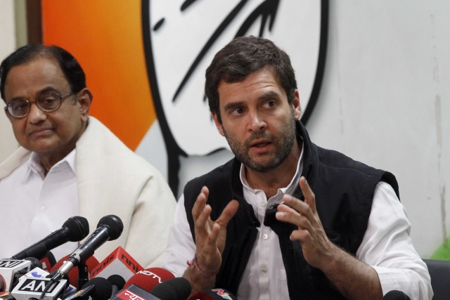 Rahul Gandhi Refuses To Admit Republic TV Reporters At His Press Conference